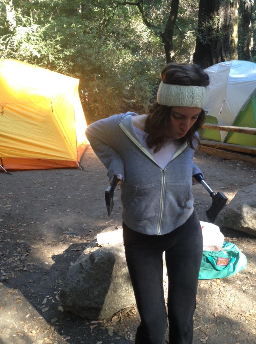 Tall Girls Camping Trip